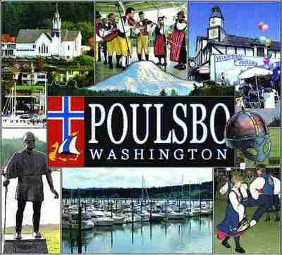 Poulsbo, Washington Throw Blanket
