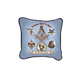 Prince Hall Lodge Decorative Pillow