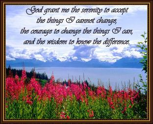 Serenity Prayer Coverlet