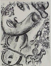 Le Cirque No. 513 is an original lithograph by Marc Chagall