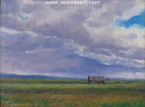 Lonely Prairie is an oil painting by Travis Humphreys