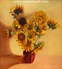SonFlowers is an oil painting by Debra Keirce