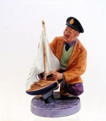 A Sailor's Holiday a porcelain figurine by Royal Doulton