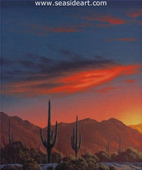 High Sonora is an original oil painting by Clifford Bailey