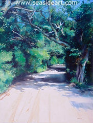 Howard Street, Ocracoke, NC is an oil painting by Gregory Kavalec