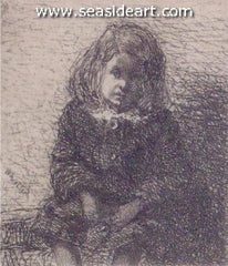 Little Arthur is an original etching by James Abbott McNeill Whistler