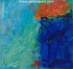 Untitled 2 is an acrylic abstract painting by Doug Brannon. It is gallery wrapped