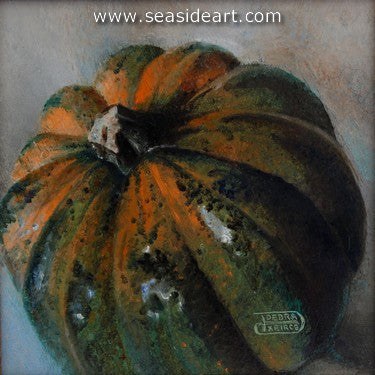 A Proud Gourd by Debra Keirce - Seaside Art Gallery