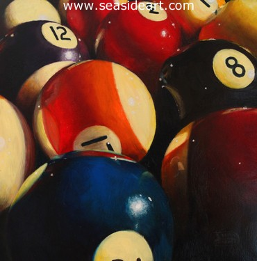 A New Ball Game by Debra Keirce - Seaside Art Gallery