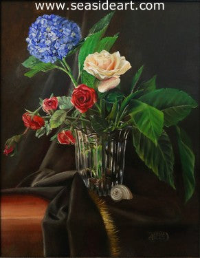 American Glory by Debra Keirce - Seaside Art Gallery