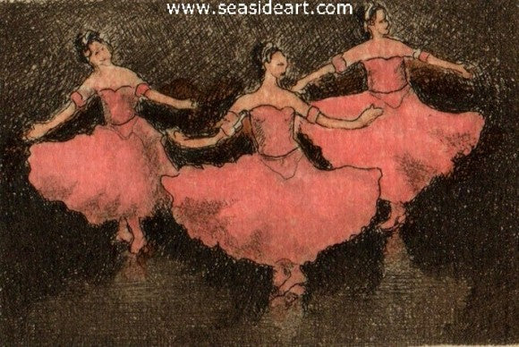 Ballet II by David Hunter - Seaside Art Gallery