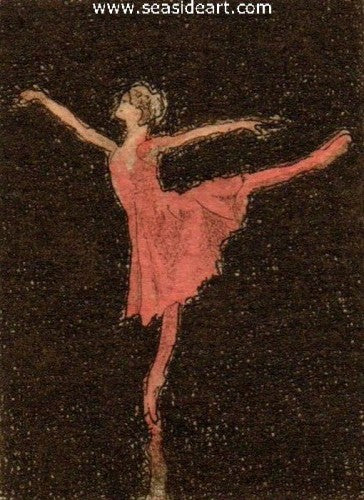 Ballet I by David Hunter - Seaside Art Gallery