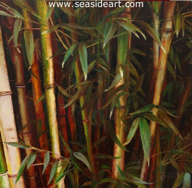 Bam by Debra Keirce - Seaside Art Gallery