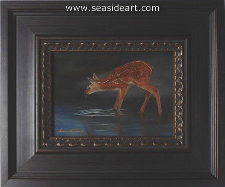 Oasis-Fawn by Bonnie Latham - Seaside Art Gallery
