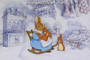 The Tale of Peter Rabbit and Benjamin Bunny-Josephine, Flopsy, Mopsy and Cotton-tail
