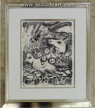 Le Cirque No. 495 by Marc Chagall - Seaside Art Gallery