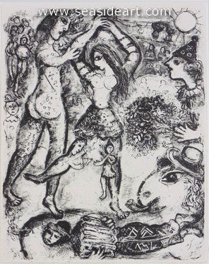 Le Cirque No. 496 by Marc Chagall - Seaside Art Gallery