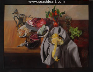 Charcuterie by Debra Keirce - Seaside Art Gallery