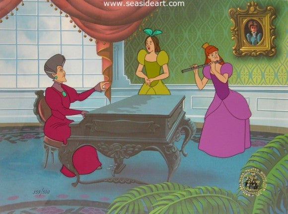 Cinderella – The Wicked Stepmother & Sisters by Walt Disney Studios - Seaside Art Gallery