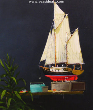 Dan's Model by Dan Dunn - Seaside Art Gallery