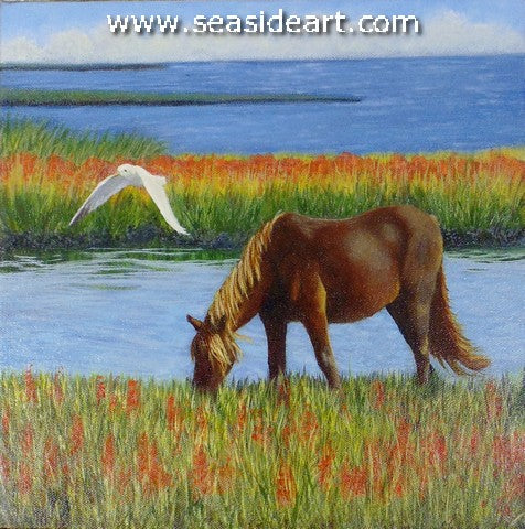 OBX Horse and Gull