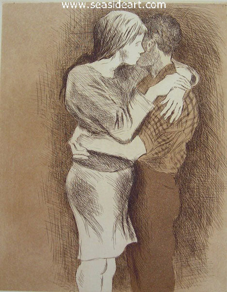 Embrace by Soyer Family - Seaside Art Gallery