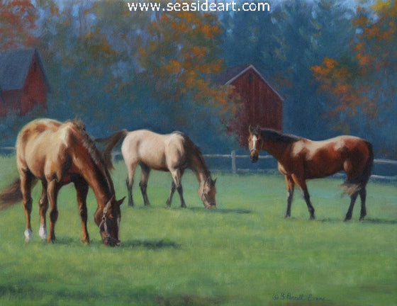 September by Beth Parcell Evans - Seaside Art Gallery
