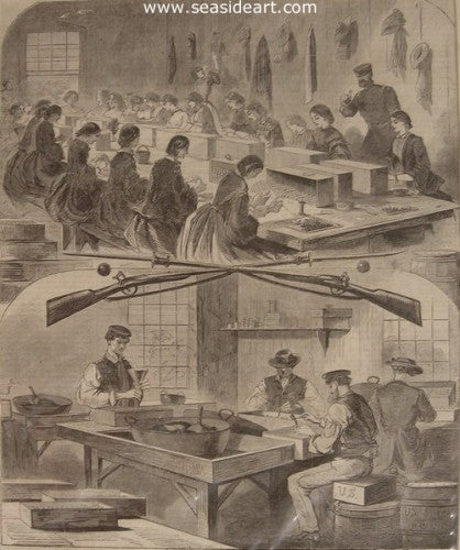 Filling Cartridges at the US Arsenal