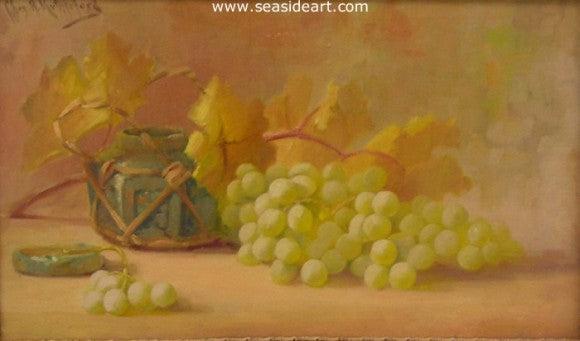 Green Grapes by Charles Adrian Rutherford - Seaside Art Gallery
