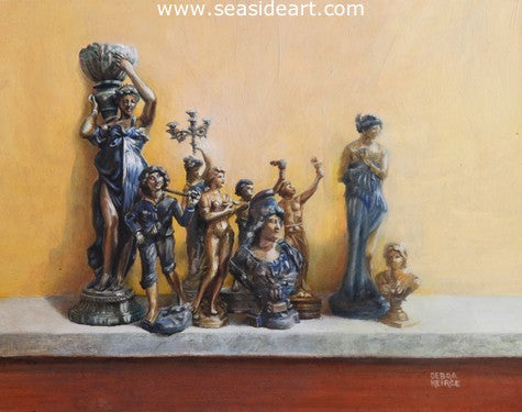 Humans by Debra Keirce - Seaside Art Gallery