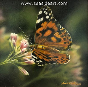 Lingering (Painted Lady Butterfly)