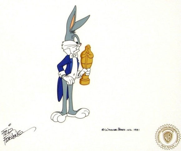 Looney, Looney, Looney Bugs Bunny Movie – Bugs Bunny by Warner Brothers Studios - Seaside Art Gallery