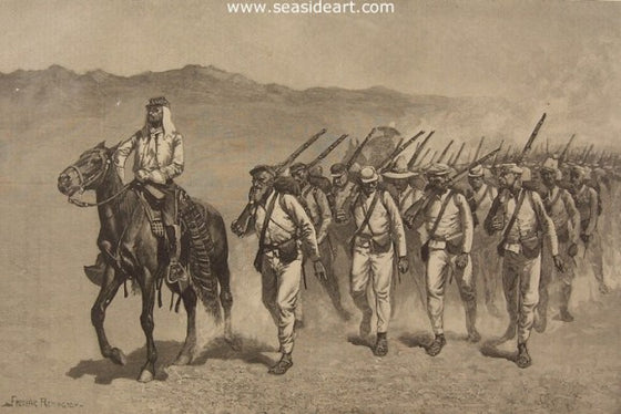 Mexican Infantry on the March