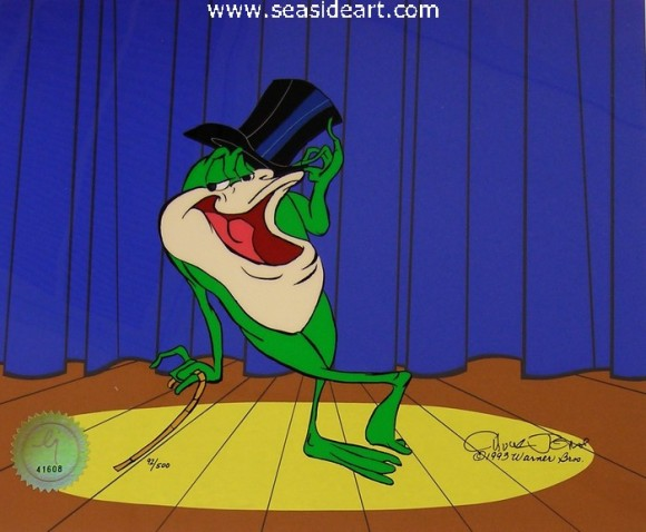 Michigan J. Frog V by Warner Brothers Studios - Seaside Art Gallery