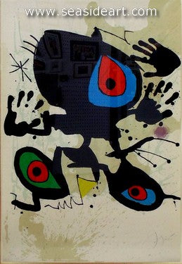 Hommage a Miro by Joan Miró - Seaside Art Gallery
