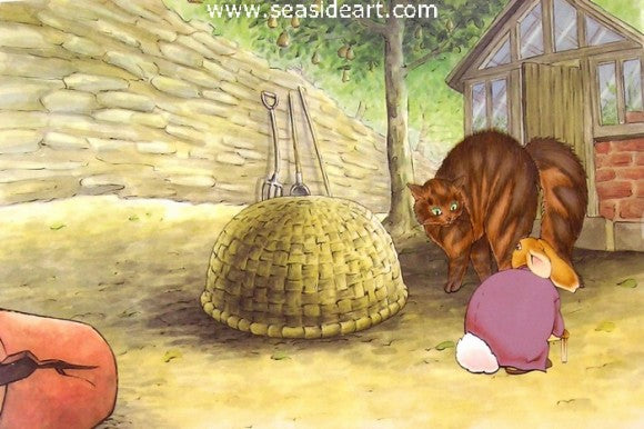 The Tale of Peter Rabbit and Benjamin Bunny - Mr. Bouncer & Mr. McGregor's Cat
