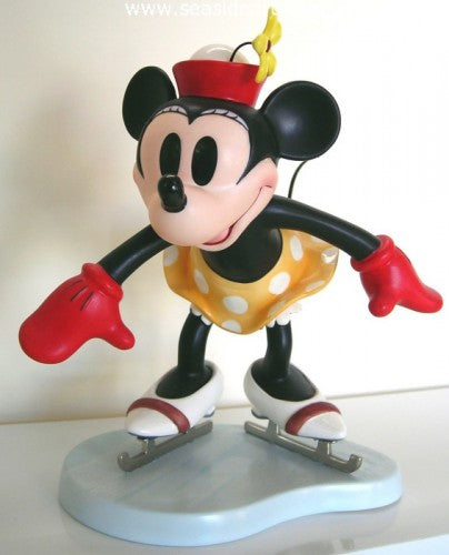On Ice: Minnie Mouse by Walt Disney Classics Collection - Seaside Art Gallery