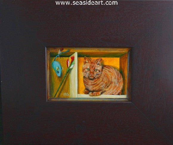 Playtime by Debra Keirce - Seaside Art Gallery