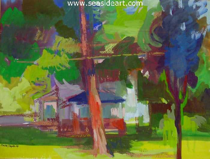 Prairie Street by Martha Hayden - Seaside Art Gallery