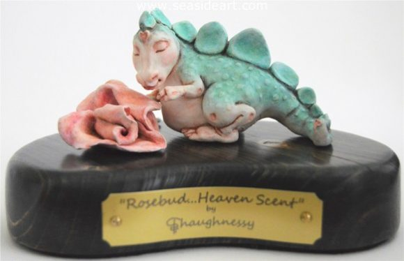 "Rosebud….Heaven Scent by Sharon ""Dee"" Shaughnessy - Seaside Art Gallery"
