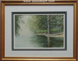 Serene Reflections by Fini Beunis - Seaside Art Gallery