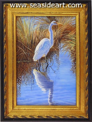 Shallow Water Fishing (Egret)
