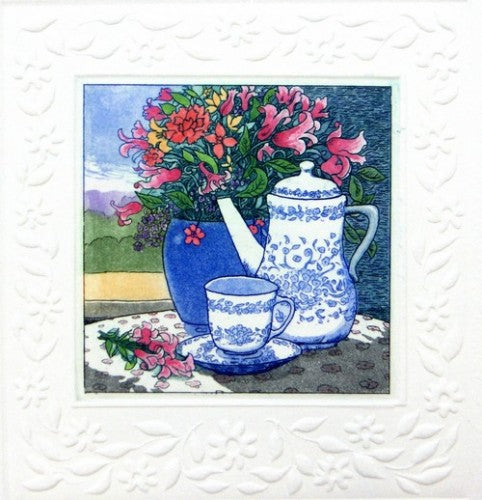 Tea Time II by Stephan Whittle - Seaside Art Gallery