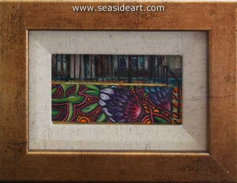 The Wall by Debra Keirce - Seaside Art Gallery