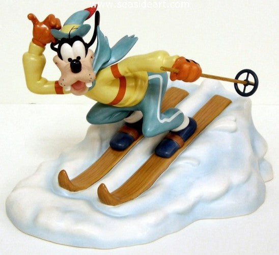 The Art of Skiing; Goofy by Walt Disney Classics Collection - Seaside Art Gallery