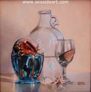 Vacation Ingredients by Debra Keirce - Seaside Art Gallery