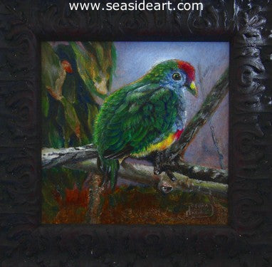 A Rare Bird by Debra Keirce - Seaside Art Gallery