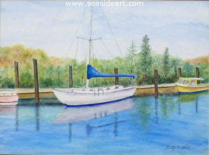 At Rest by Bettye C. White - Seaside Art Gallery