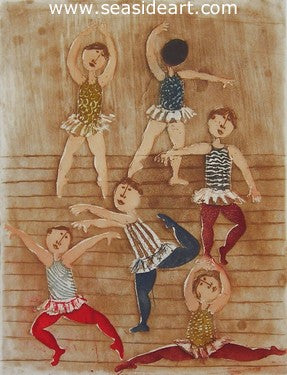 Ballet by Graciela Rodo Boulanger - Seaside Art Gallery