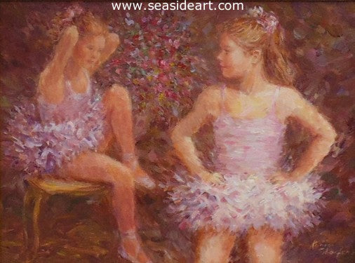 Before the Recital by Karin Schaefers - Seaside Art Gallery